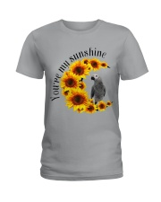 African Grey Parrot You Are My Sunshine  Ladies T-Shirt thumbnail