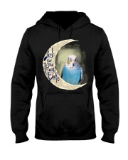 Budgie I Love You To The Moon And Back  Hooded Sweatshirt thumbnail