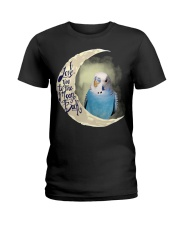Budgie I Love You To The Moon And Back  Ladies T-Shirt thumbnail
