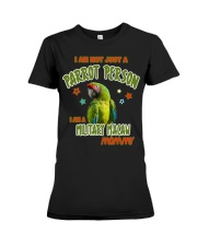 Military Macaw Mommy Lover  Premium Fit Ladies Tee thumbnail