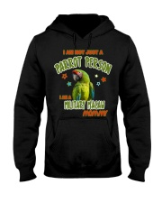 Military Macaw Mommy Lover  Hooded Sweatshirt thumbnail