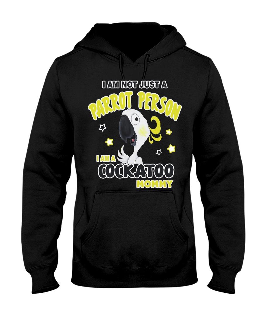 Cockatoo Mommy Lover  Hooded Sweatshirt