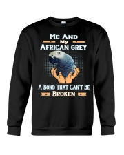 True Love Me And My African Grey  Crewneck Sweatshirt thumbnail