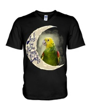 DYH I Love You To The Moon And Back  V-Neck T-Shirt thumbnail