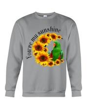 Green Eclectus You Are My Sunshine  Crewneck Sweatshirt thumbnail