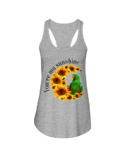 Green Eclectus You Are My Sunshine  Ladies Flowy Tank thumbnail