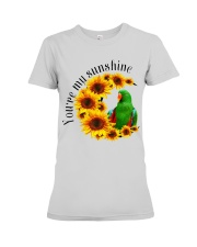 Green Eclectus You Are My Sunshine  Premium Fit Ladies Tee thumbnail