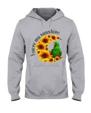 Green Eclectus You Are My Sunshine  Hooded Sweatshirt thumbnail