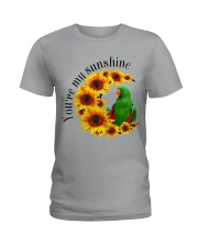Green Eclectus You Are My Sunshine  Ladies T-Shirt thumbnail