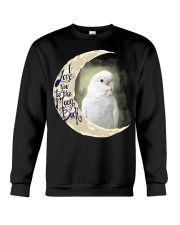Goffin Cockatoo I Love You To The Moon And Back  Crewneck Sweatshirt thumbnail