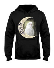 Goffin Cockatoo I Love You To The Moon And Back  Hooded Sweatshirt thumbnail