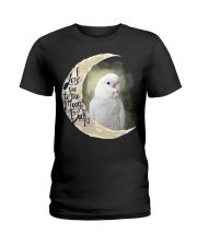 Goffin Cockatoo I Love You To The Moon And Back  Ladies T-Shirt thumbnail
