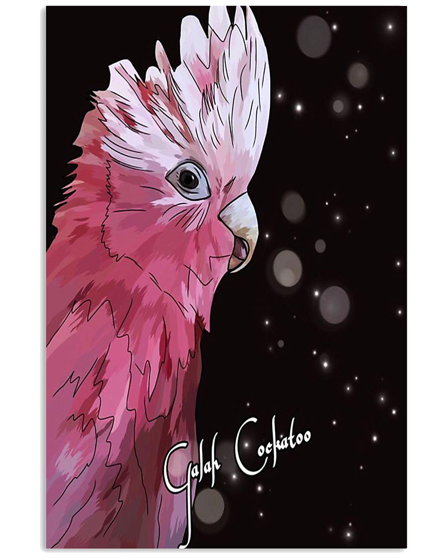 Amazing Galah Cockatoo Artwork  11x17 Poster