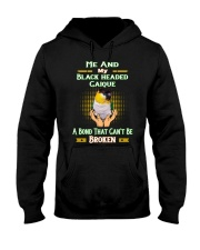 True Love Me And My Black Headed Caique  Hooded Sweatshirt tile