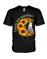 Cockatiel You Are My Sunshine V-Neck T-Shirt thumbnail