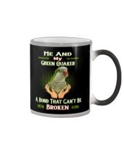 True Love Me And My Green Quaker  Color Changing Mug thumbnail