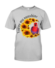 Red Eclectus You Are My Sunshine  Classic T-Shirt front