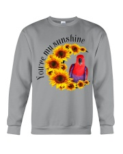 Red Eclectus You Are My Sunshine  Crewneck Sweatshirt thumbnail