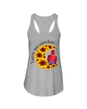 Red Eclectus You Are My Sunshine  Ladies Flowy Tank thumbnail