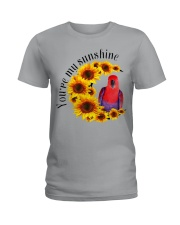 Red Eclectus You Are My Sunshine  Ladies T-Shirt thumbnail