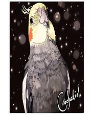 Amazing Cockatiel Artwork 11x17 Poster front