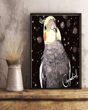 Amazing Cockatiel Artwork 11x17 Poster lifestyle-poster-3