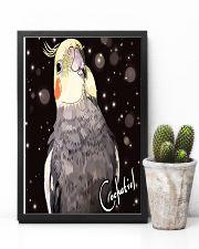Amazing Cockatiel Artwork 11x17 Poster lifestyle-poster-8