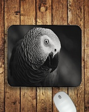 African Grey Parrot  Mousepad aos-mousepad-front-lifestyle-2