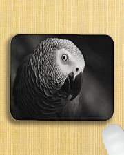 African Grey Parrot  Mousepad aos-mousepad-front-lifestyle-6