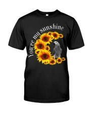 African Grey You Are My Sunshine Classic T-Shirt front