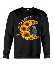 African Grey You Are My Sunshine Crewneck Sweatshirt thumbnail