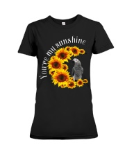 African Grey You Are My Sunshine Premium Fit Ladies Tee thumbnail