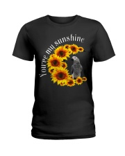 African Grey You Are My Sunshine Ladies T-Shirt thumbnail