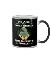True Love Me And My Indian Ringneck Color Changing Mug thumbnail