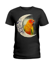 Sun Conure I Love You To The Moon And Back  Ladies T-Shirt thumbnail