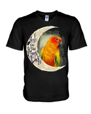Sun Conure I Love You To The Moon And Back  V-Neck T-Shirt thumbnail