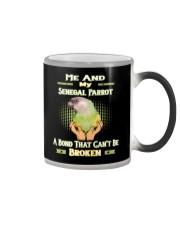 True Love Me And My Senegal Parrot  Color Changing Mug thumbnail