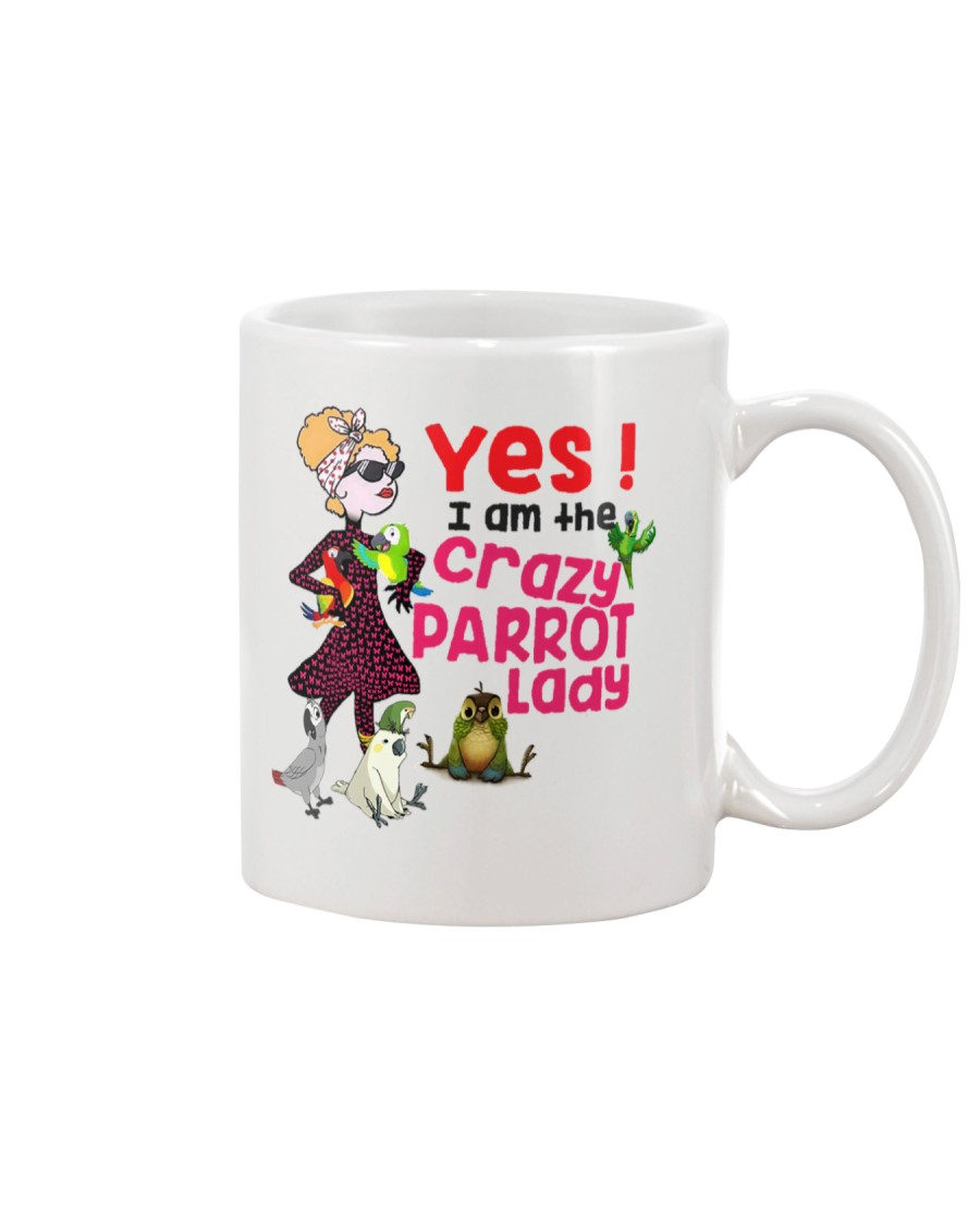 I'm The Crazy Parrot Lady  Mug