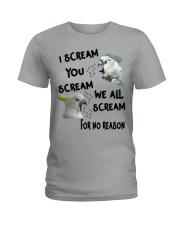 We All Scream  Ladies T-Shirt thumbnail