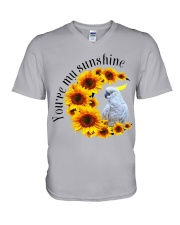Cockatoo You Are My Sunshine  V-Neck T-Shirt thumbnail