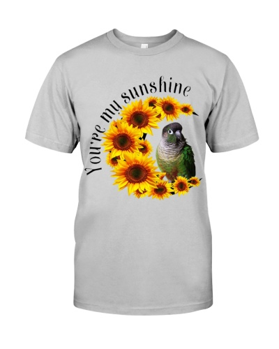 Green Cheeked Conure You Are My Sunshine