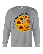 Sun Conure You Are My Sunshine  Crewneck Sweatshirt thumbnail