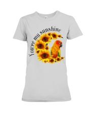 Sun Conure You Are My Sunshine  Premium Fit Ladies Tee thumbnail