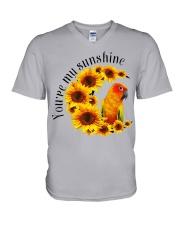 Sun Conure You Are My Sunshine  V-Neck T-Shirt thumbnail