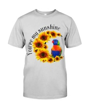 Lorikeet Parrot You Are My Sunshine  Premium Fit Mens Tee tile