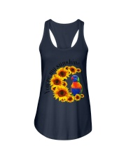 Lorikeet Parrot You Are My Sunshine  Ladies Flowy Tank thumbnail