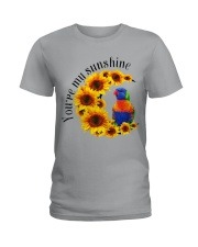 Lorikeet Parrot You Are My Sunshine  Ladies T-Shirt tile
