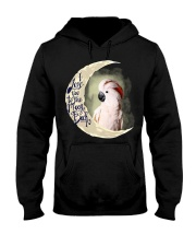 Moluccan Cockatoo I Love You To The Moon And Back Hooded Sweatshirt thumbnail