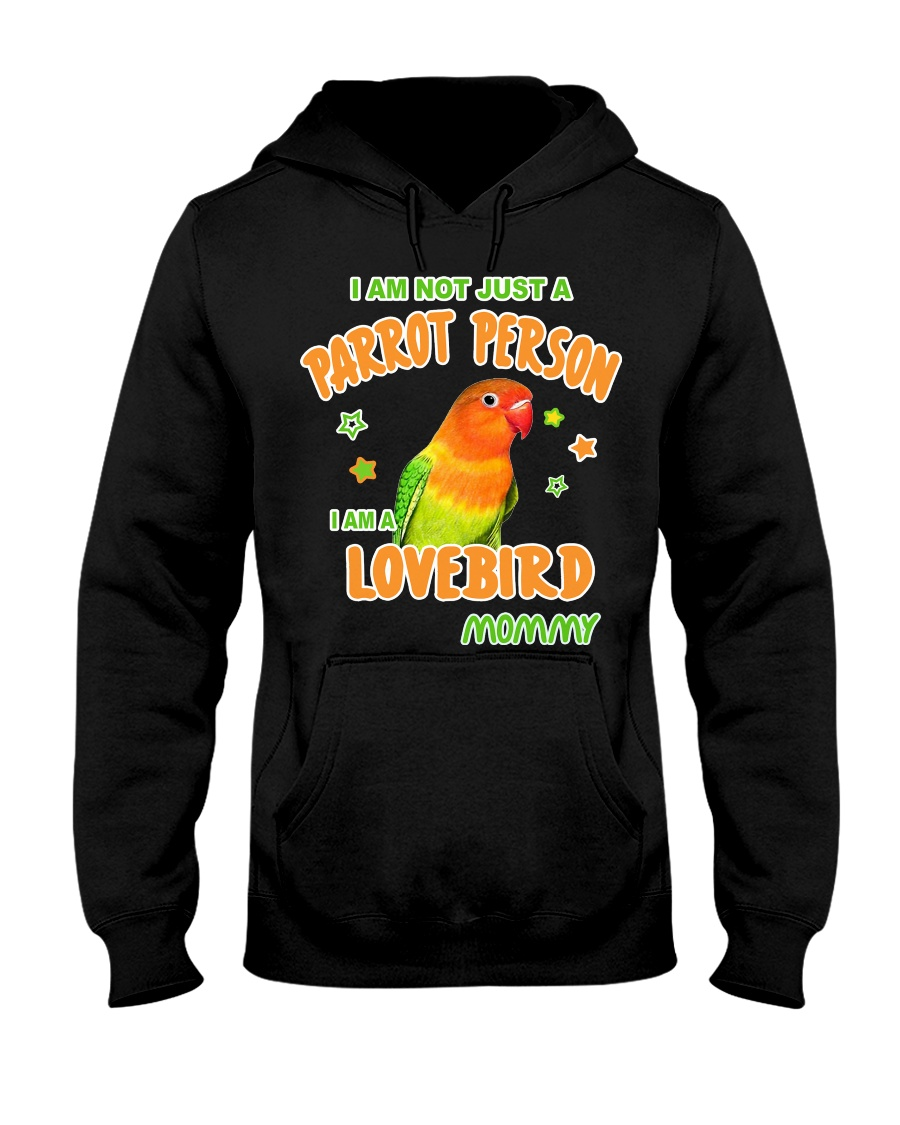 Lovebirds Mommy Lover Hooded Sweatshirt