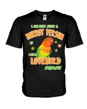 Lovebirds Mommy Lover V-Neck T-Shirt thumbnail